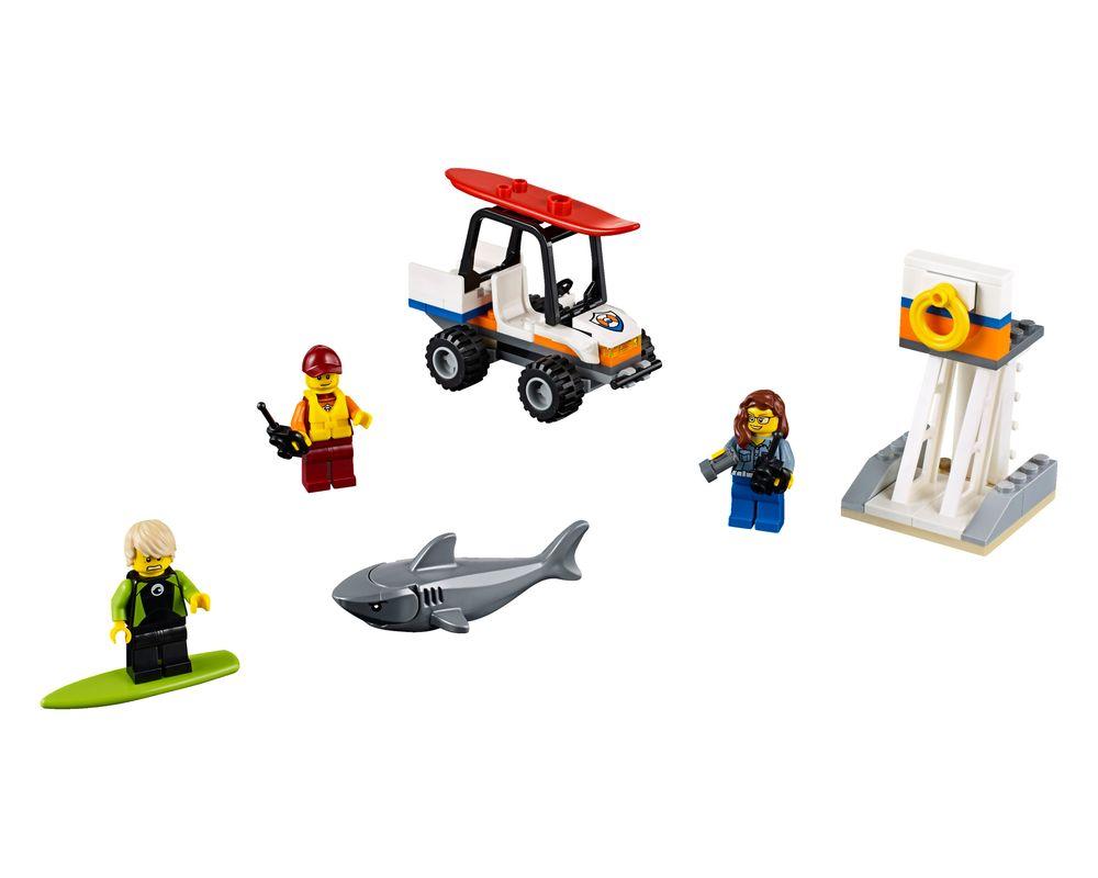 LEGO Set 60163-1 Coast Guard Starter Set (Model - A-Model)