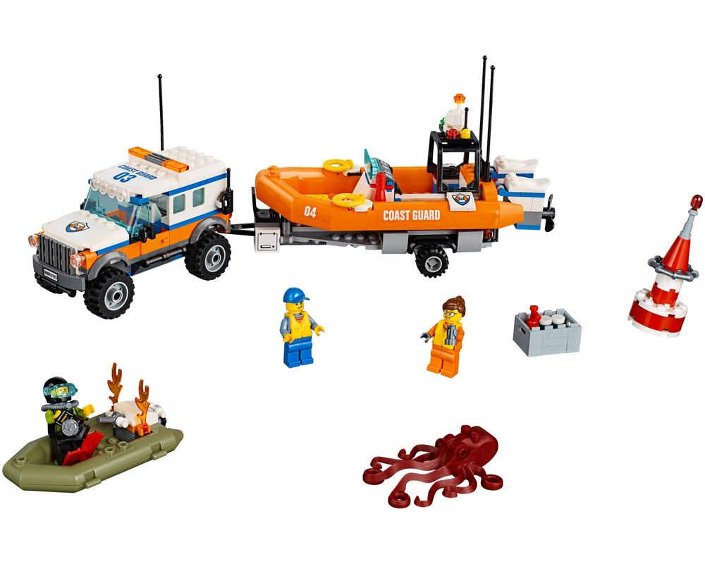 LEGO Set 60165-1 4 x 4 Response Unit (Model - A-Model)