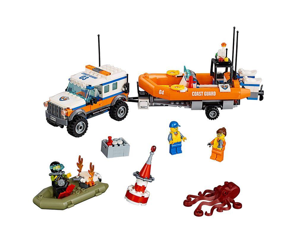 LEGO Set 60165-1 4 x 4 Response Unit