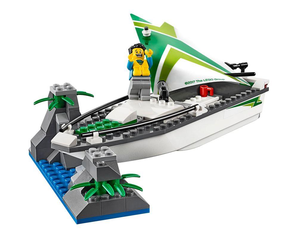 LEGO Set 60168-1 Sailboat Rescue
