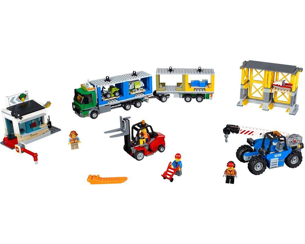LEGO Set 60169-1 City Cargo Terminal (LEGO - Model)