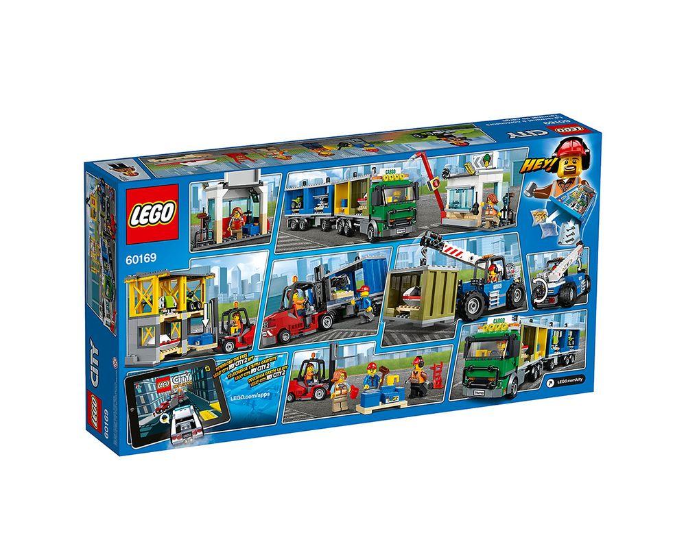 LEGO Set 60169-1 City Cargo Terminal