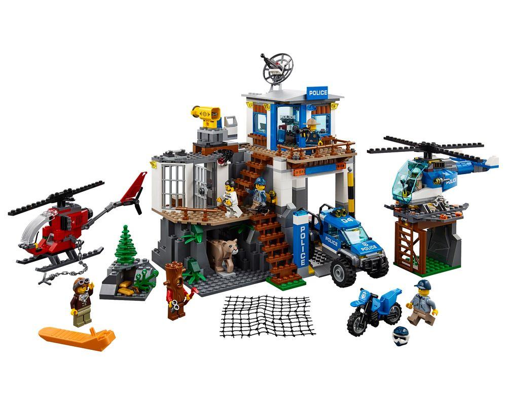 LEGO Set 60174-1 Mountain Police Headquarters (Model - A-Model)