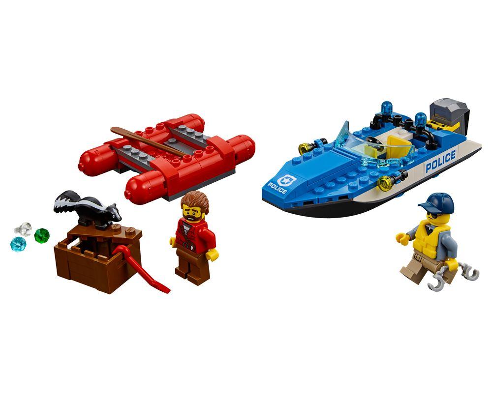 LEGO Set 60176-1 Wild River Escape (LEGO - Model)