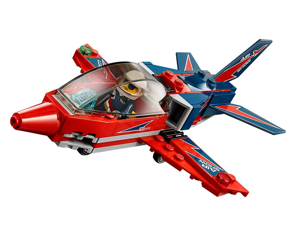 LEGO Set 60177-1 Airshow Jet