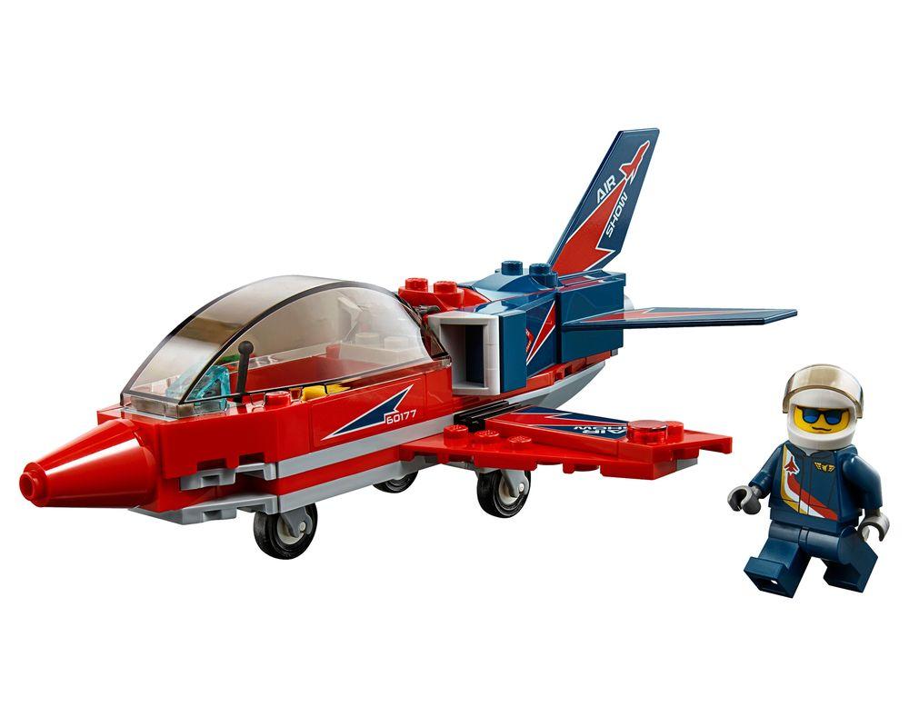 LEGO Set 60177-1 Airshow Jet (LEGO - Model)