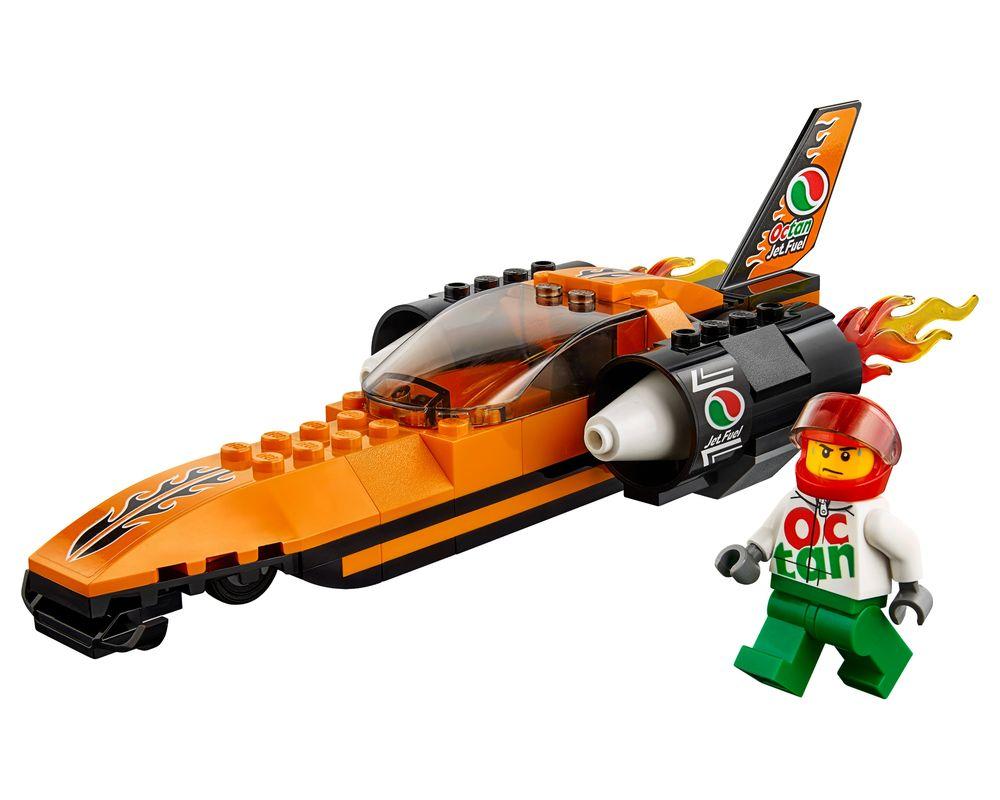 LEGO Set 60178-1 Speed Record Car (LEGO - Model)