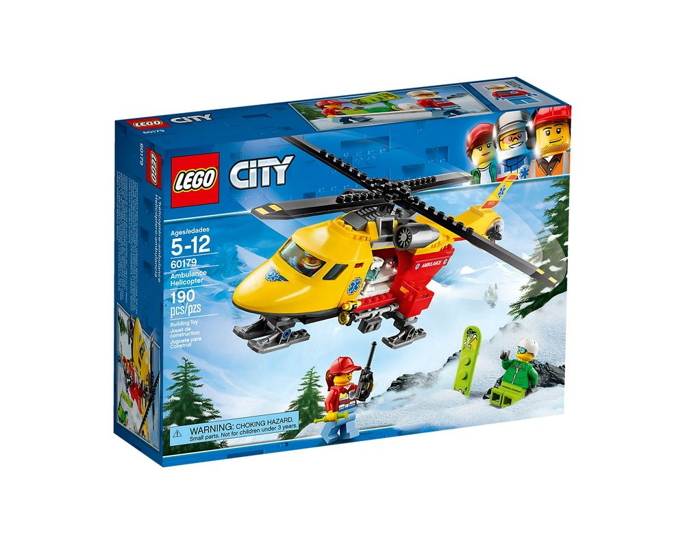 LEGO Set 60179-1 Ambulance Helicopter