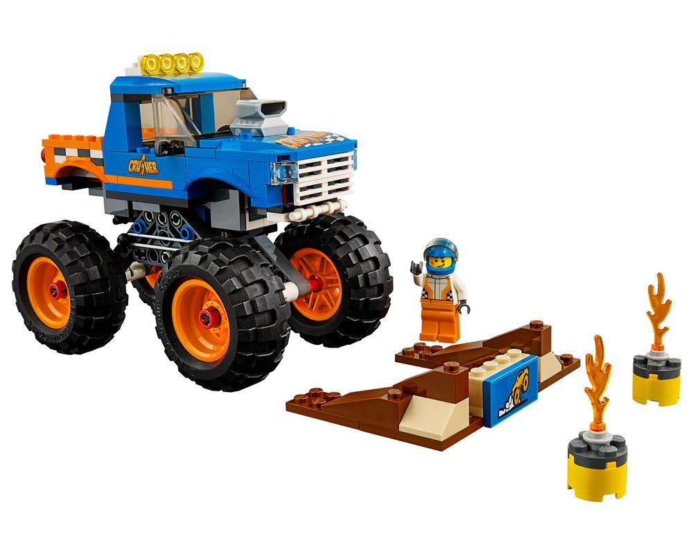 LEGO Set 60180-1 Monster Truck (LEGO - Model)