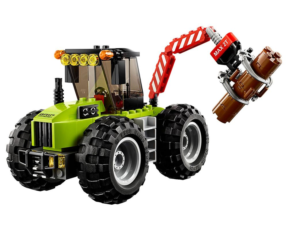 LEGO Set 60181-1 Forest Tractor