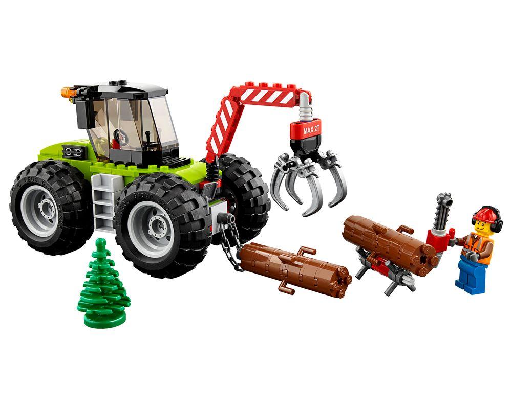 LEGO Set 60181-1 Forest Tractor (LEGO - Model)