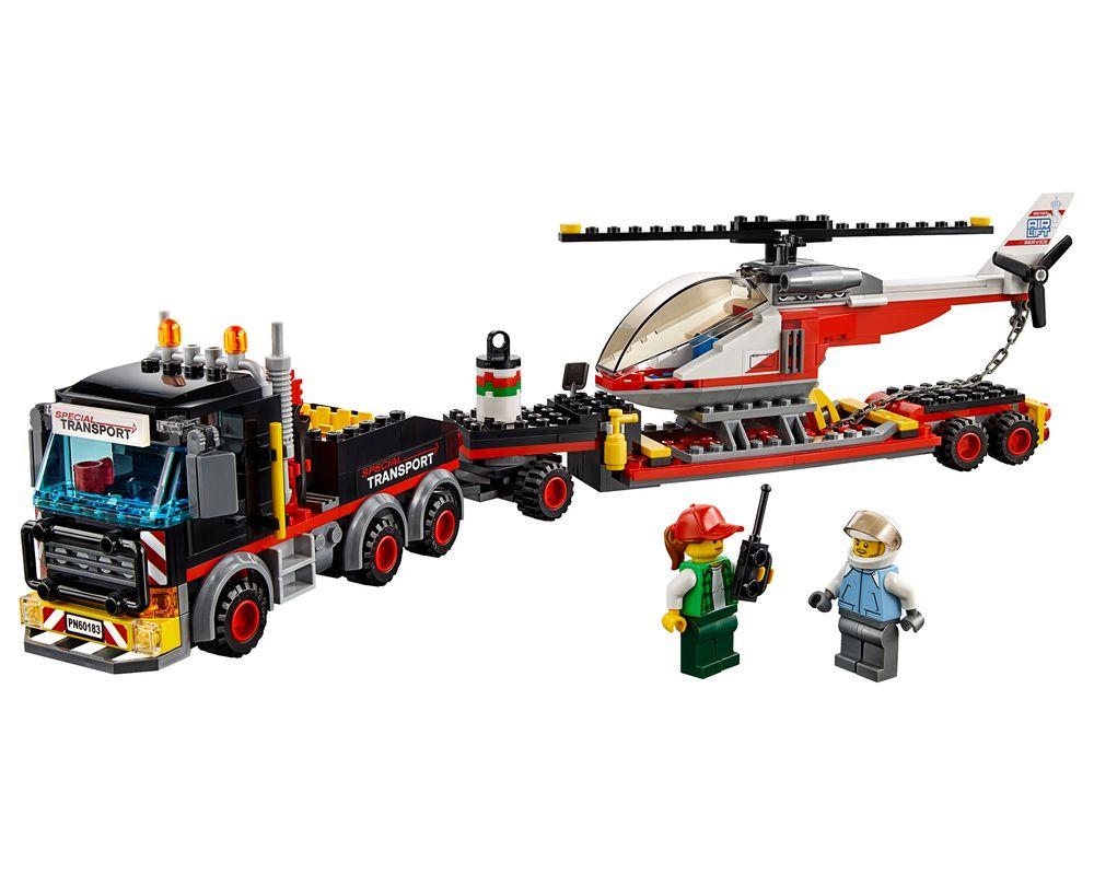 LEGO Set 60183-1 Heavy Cargo Transport (Model - A-Model)