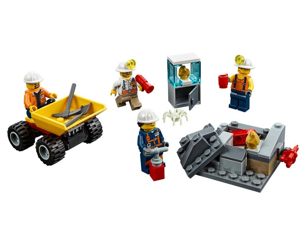 LEGO Set 60184-1 Mining Team (LEGO - Model)