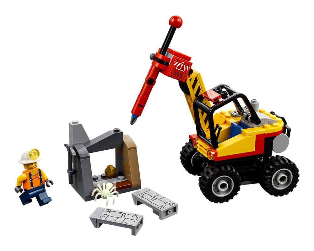 LEGO Set 60185-1 Mining Power Splitter (Model - A-Model)