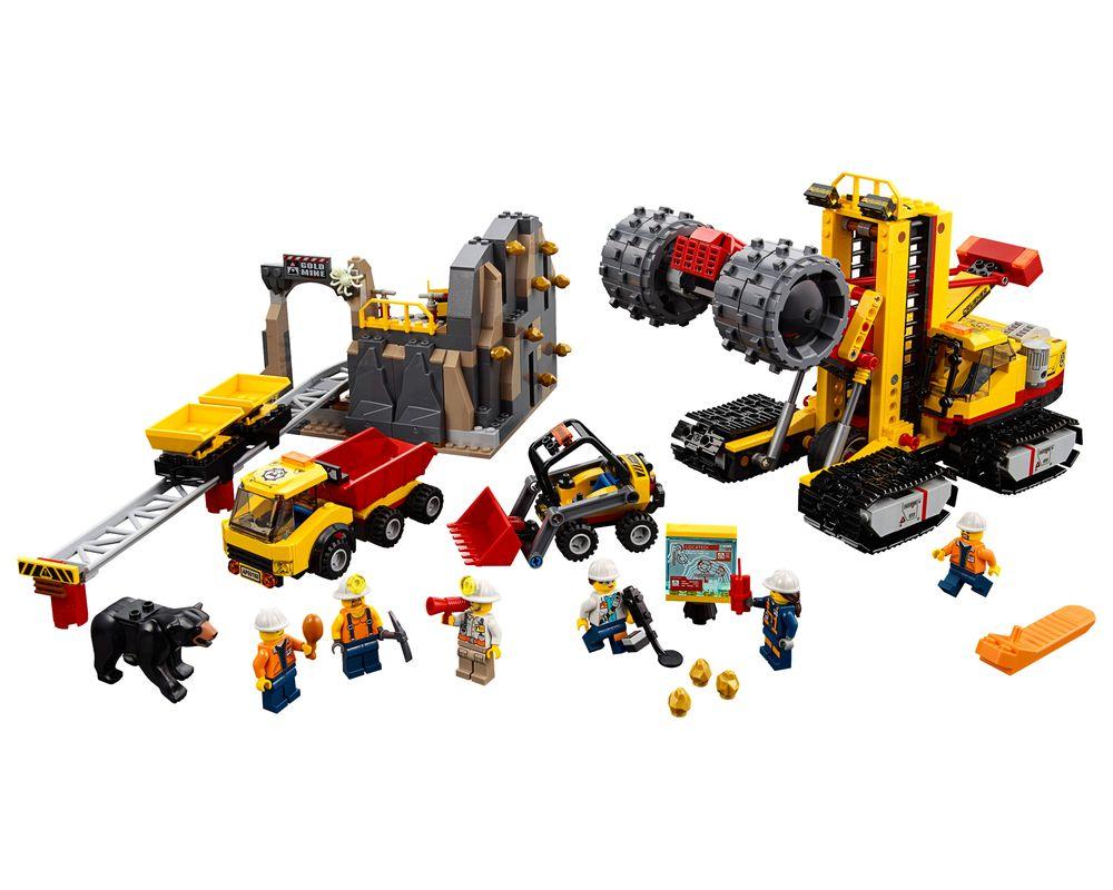 LEGO Set 60188-1 Mining Experts Site (LEGO - Model)