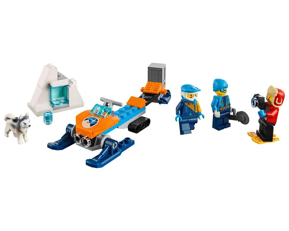 LEGO Set 60191-1 Arctic Exploration Team (Model - A-Model)