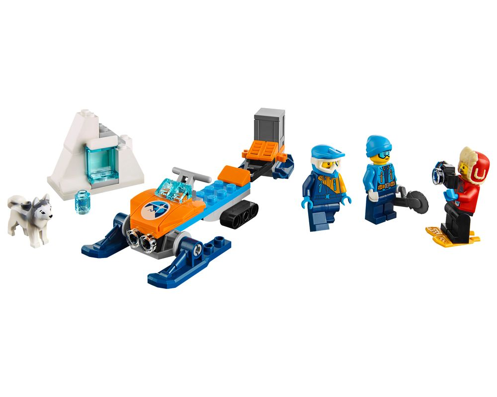 LEGO Set 60191-1 Arctic Exploration Team (LEGO - Model)