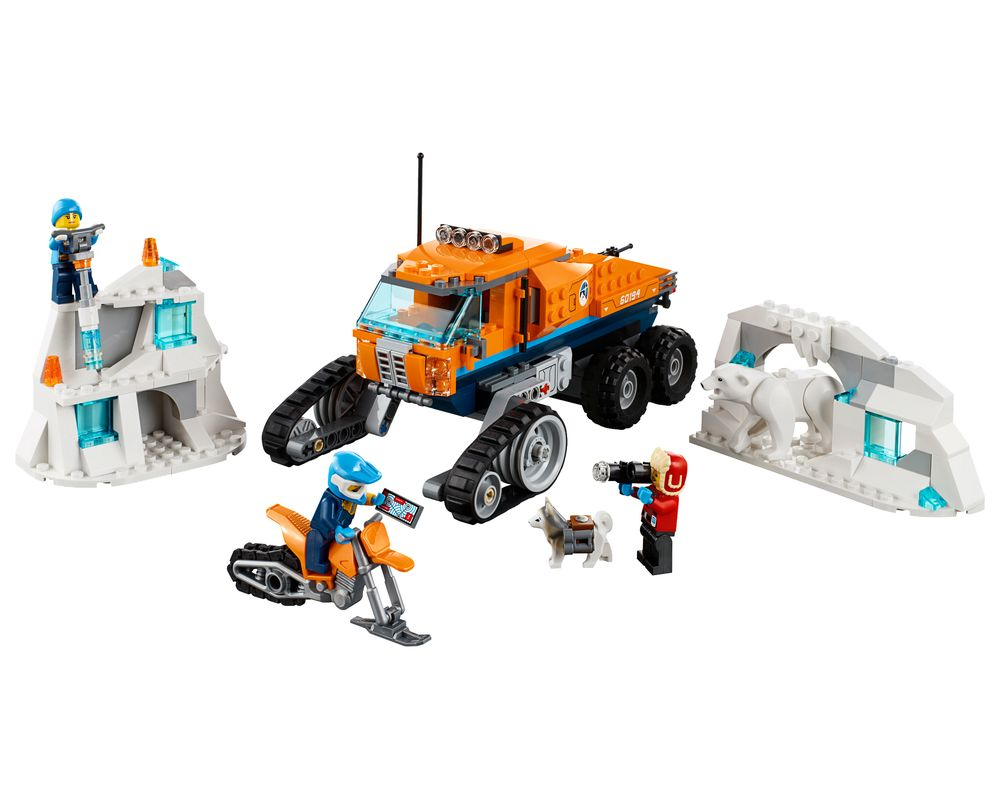 LEGO Set 60194-1 Arctic Scout Truck (Model - A-Model)