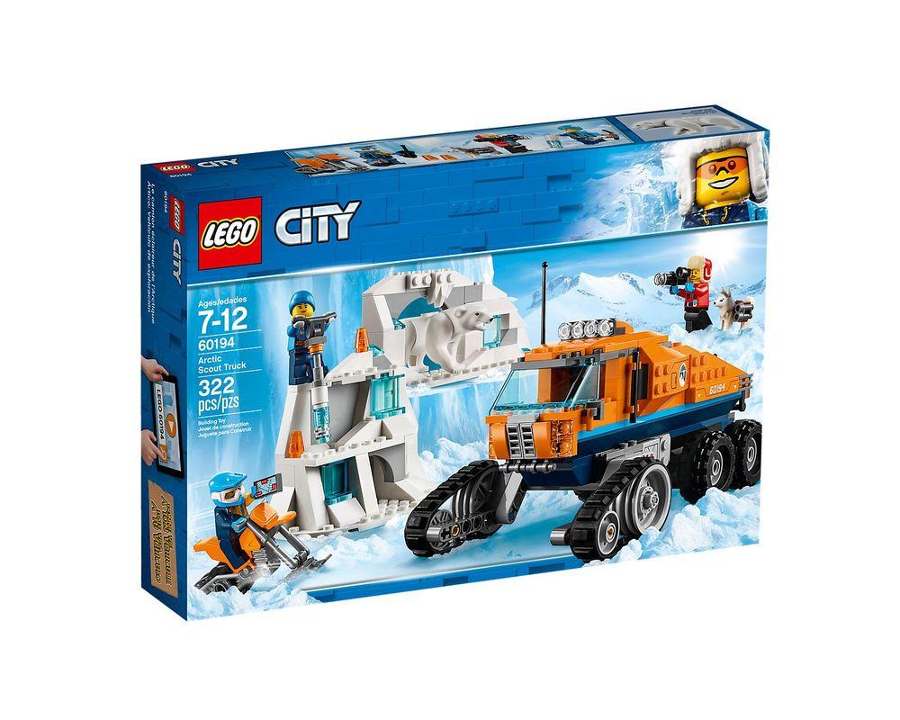 LEGO Set 60194-1 Arctic Scout Truck