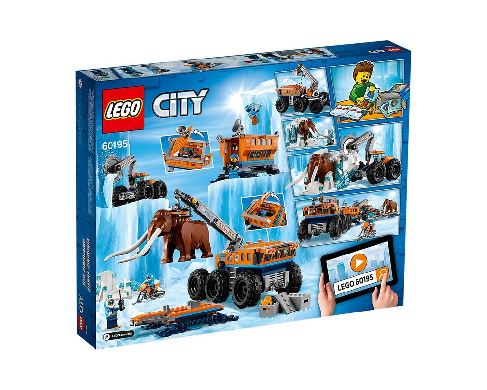 LEGO Set 60195-1 Arctic Mobile Exploration Base