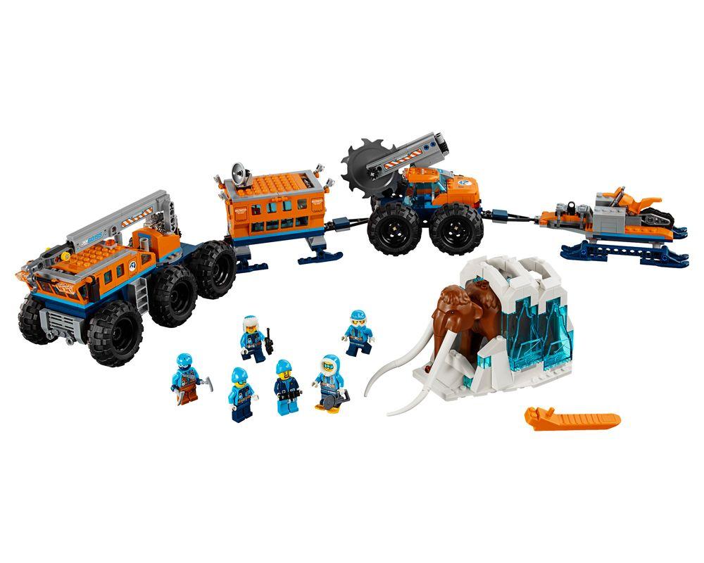 LEGO Set 60195-1 Arctic Mobile Exploration Base (LEGO - Model)