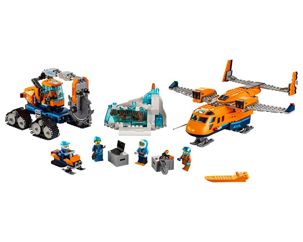 LEGO Set 60196-1 Arctic Supply Aircraft (Model - A-Model)