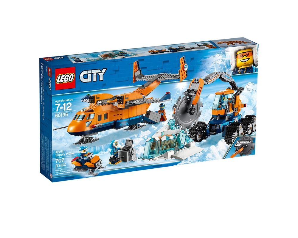 LEGO Set 60196-1 Arctic Supply Aircraft
