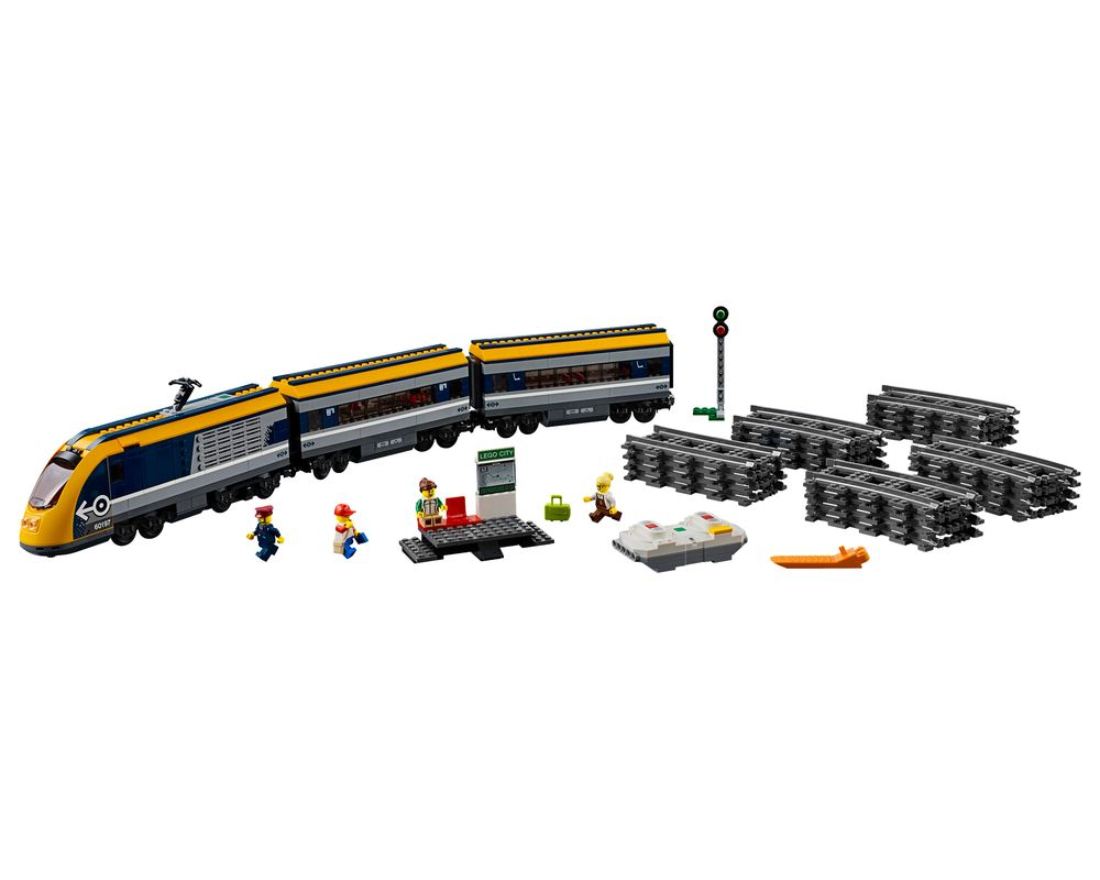 LEGO Set 60197-1 Passenger Train (LEGO - Model)