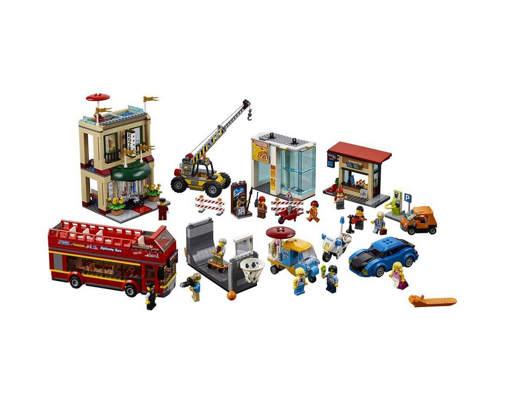 LEGO Set 60200-1 Capital City (Model - A-Model)