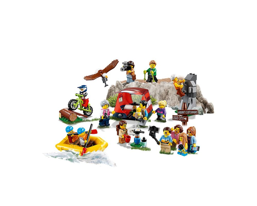 LEGO Set 60202-1 People Pack - Outdoor Adventures