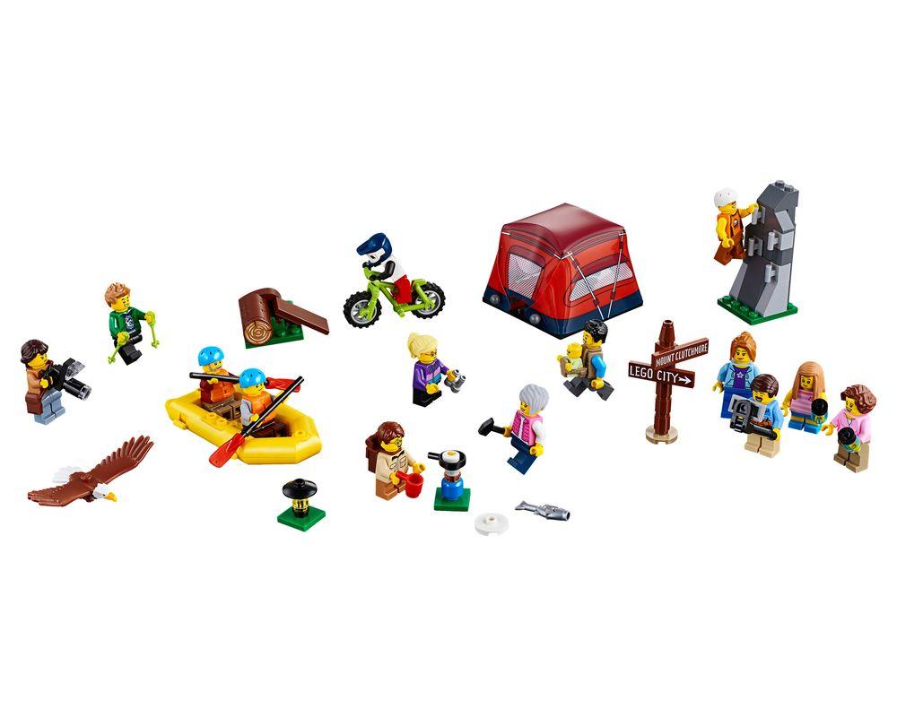 LEGO Set 60202-1 People Pack - Outdoor Adventures (Model - A-Model)