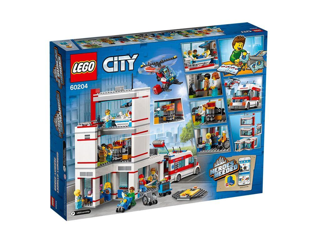 LEGO Set 60204-1 City Hospital