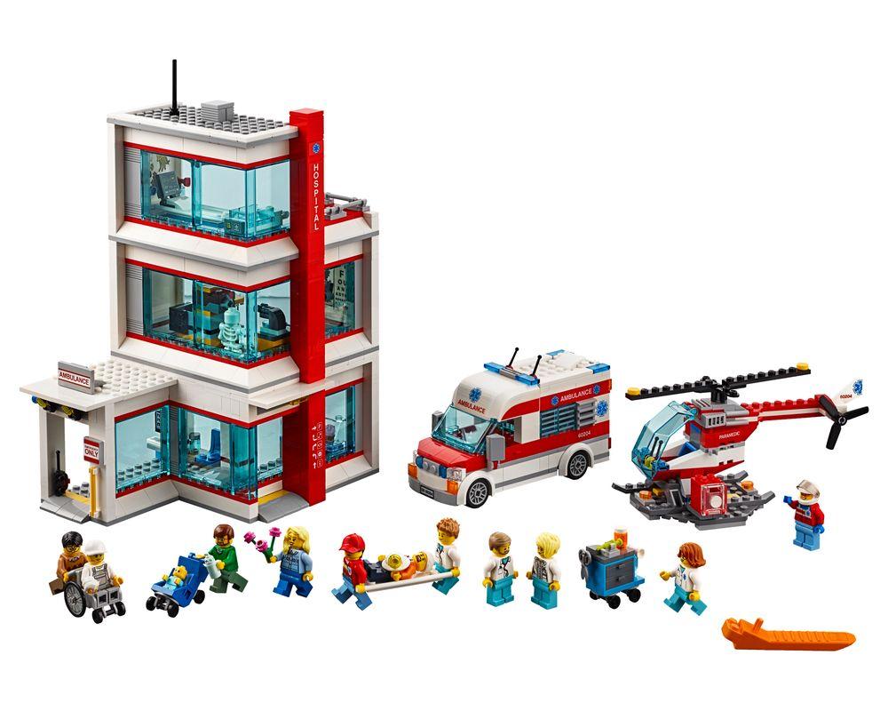 LEGO Set 60204-1 City Hospital (LEGO - Model)