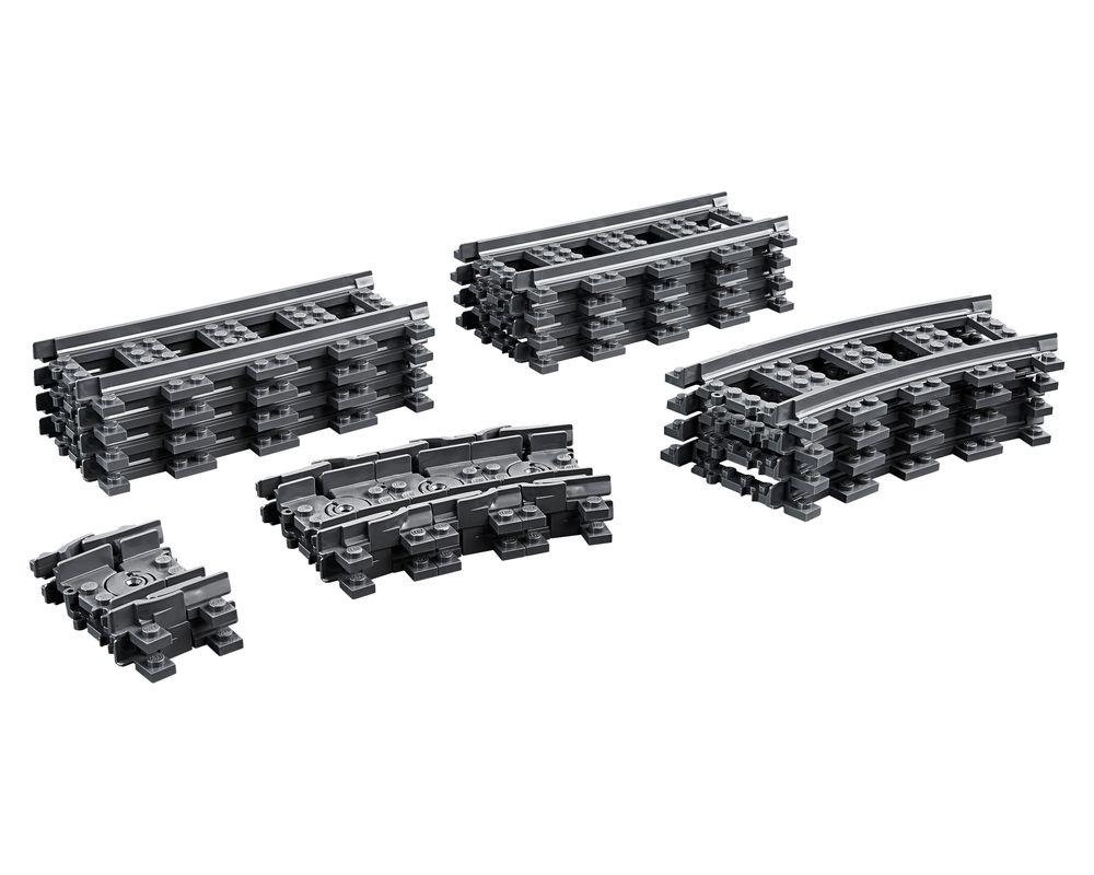 LEGO Set 60205-1 Tracks (Model - A-Model)