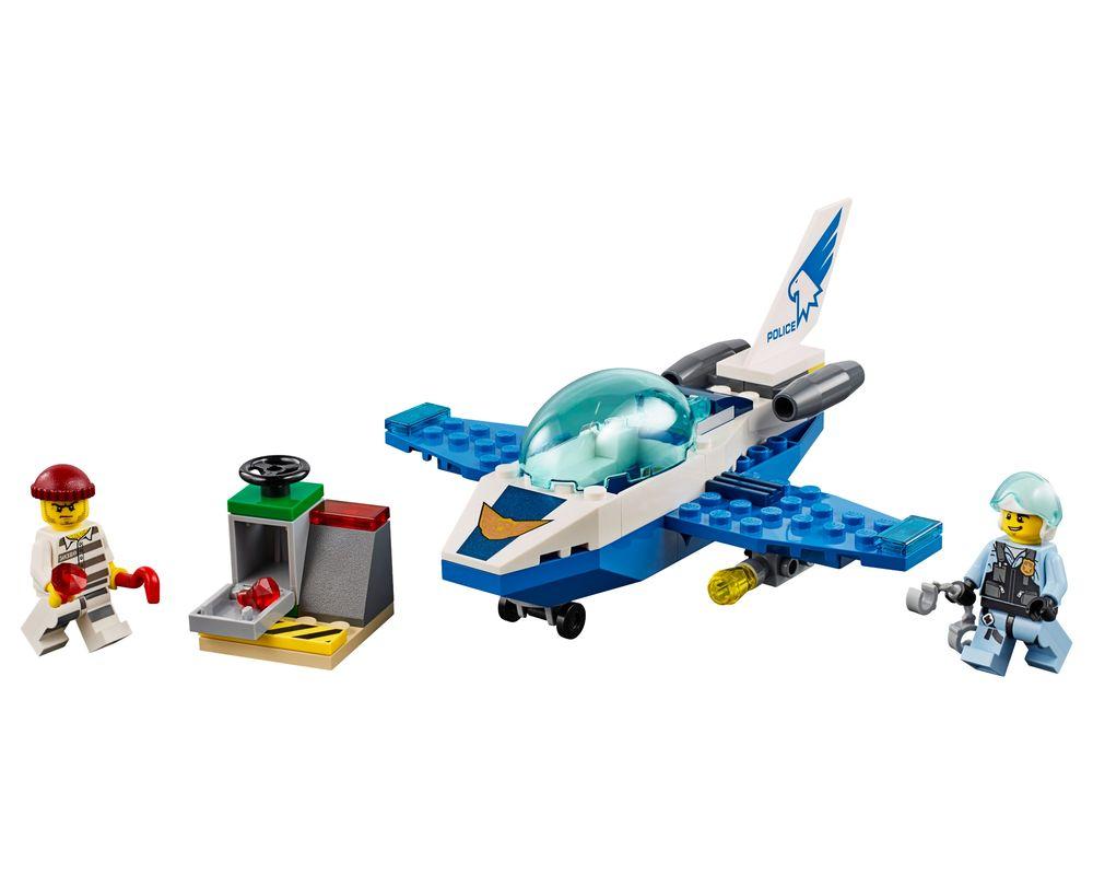 LEGO Set 60206-1 Sky Police Jet Patrol (LEGO - Model)