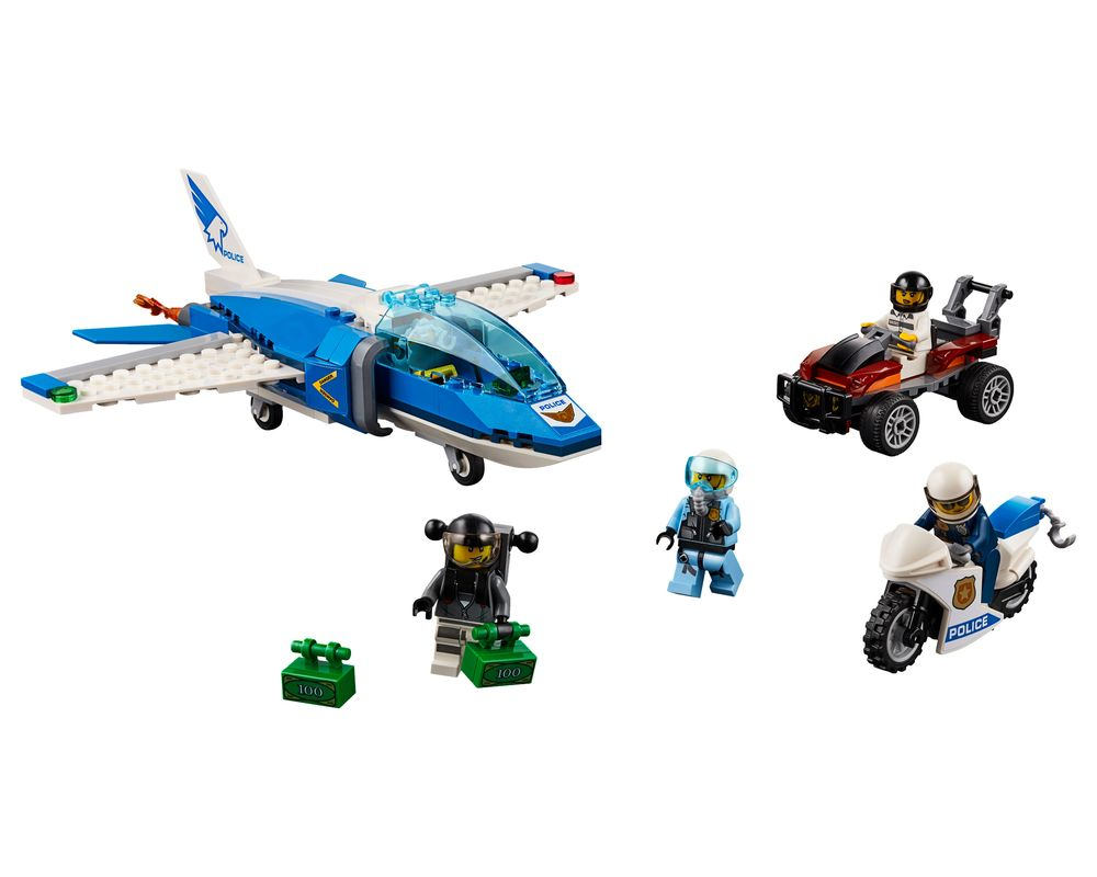LEGO Set 60208-1 Sky Police Parachute Arrest (Model - A-Model)