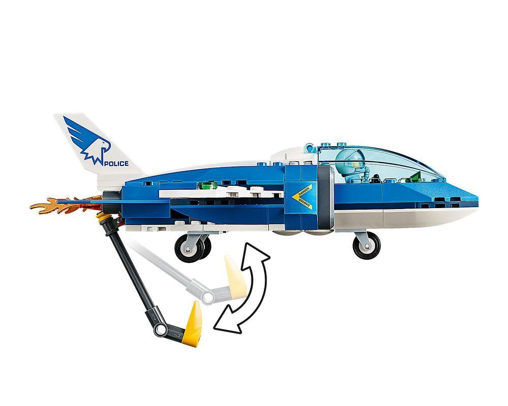 LEGO Set 60208-1 Sky Police Parachute Arrest