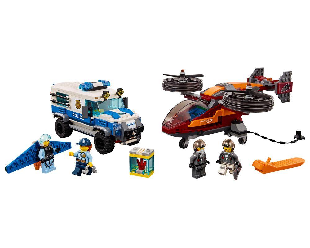 LEGO Set 60209-1 Sky Police Diamond Heist (Model - A-Model)