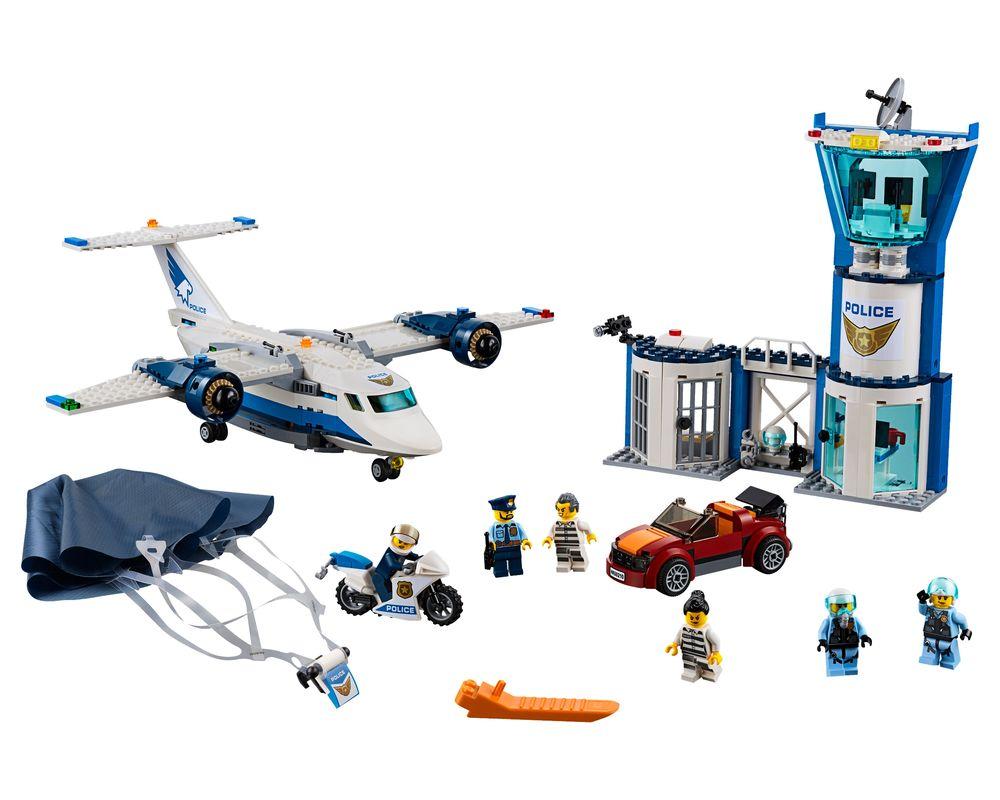 LEGO Set 60210-1 Sky Police Air Base (Model - A-Model)