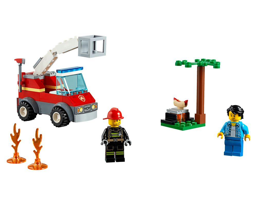 LEGO Set 60212-1 Barbecue Burn Out (Model - A-Model)