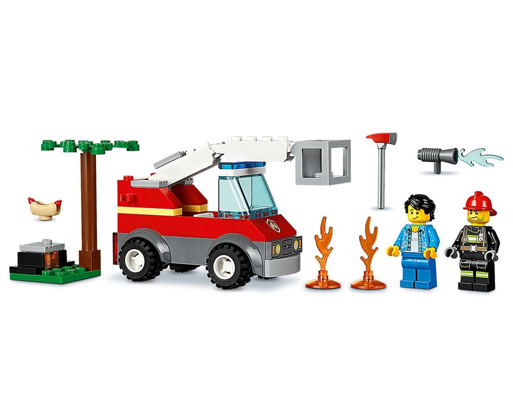 LEGO Set 60212-1 Barbecue Burn Out