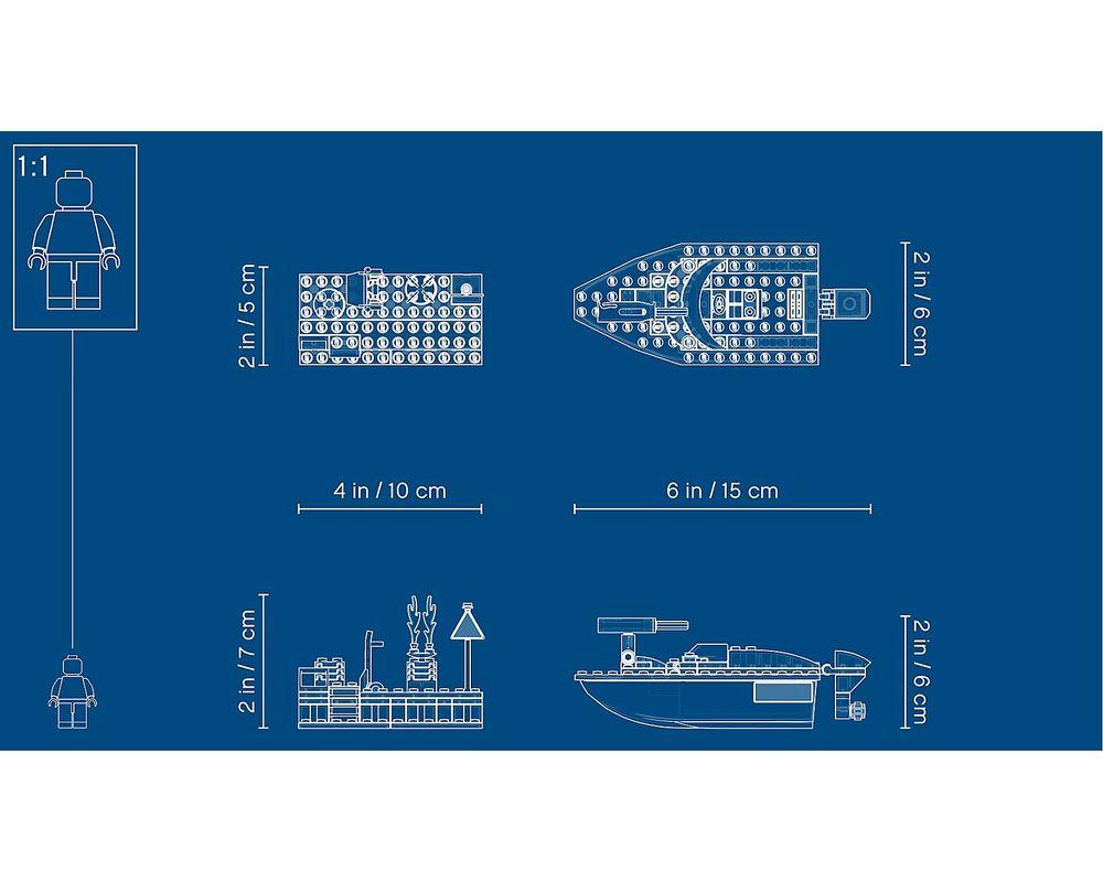LEGO Set 60213-1 Dock Side Fire
