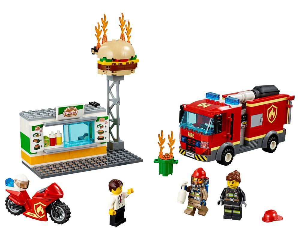 LEGO Set 60214-1 Burger Bar Fire Rescue (Model - A-Model)