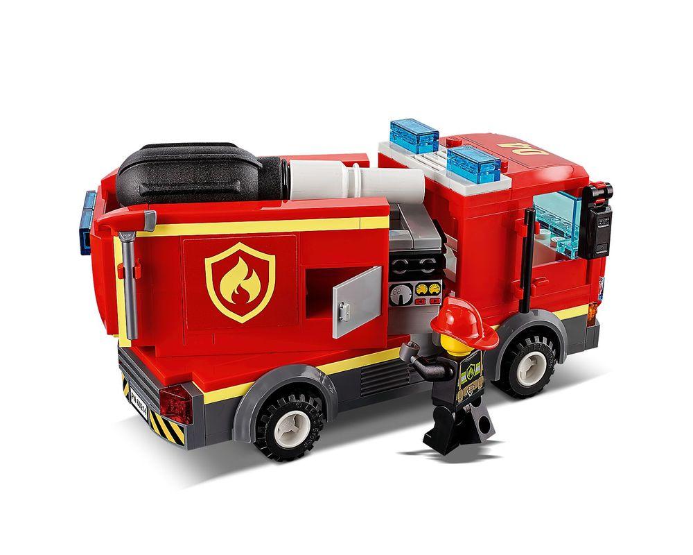 LEGO Set 60214-1 Burger Bar Fire Rescue