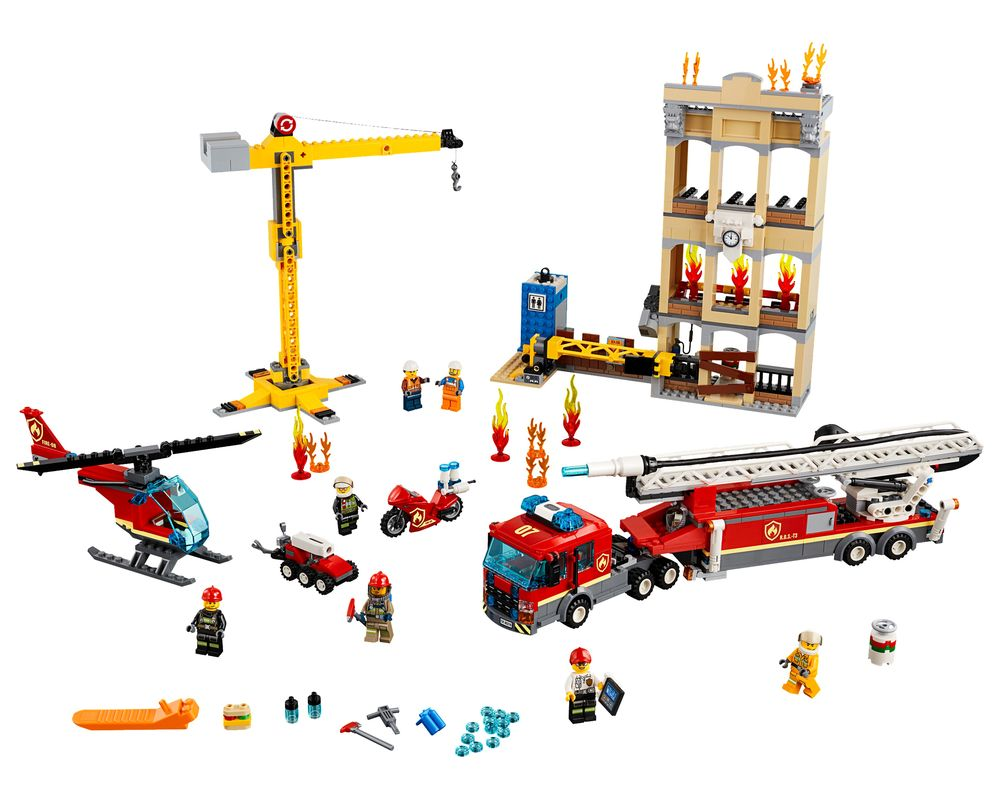 LEGO Set 60216-1 Downtown Fire Brigade (LEGO - Model)