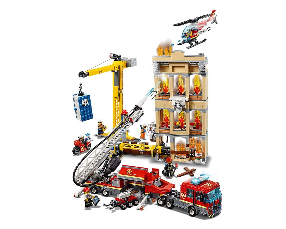 LEGO Set 60216-1 Downtown Fire Brigade