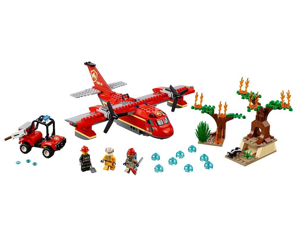 LEGO Set 60217-1 Fire Plane (Model - A-Model)