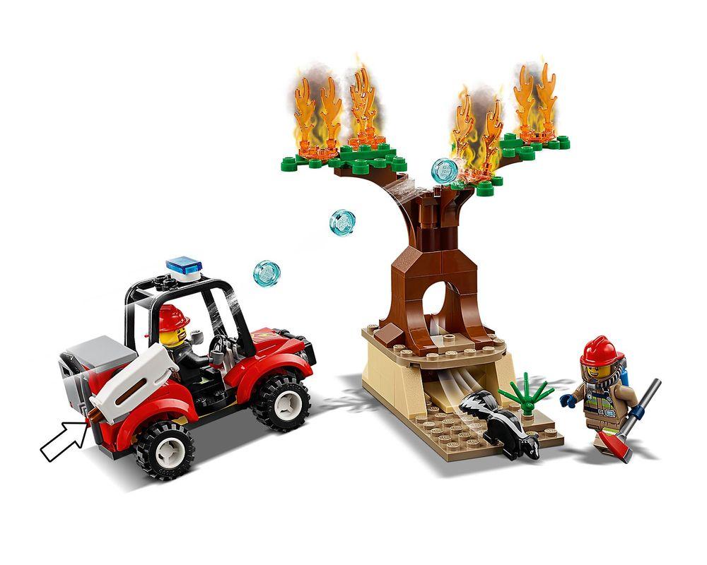 LEGO Set 60217-1 Fire Plane