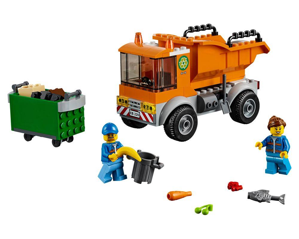 LEGO Set 60220-1 Garbage Truck (LEGO - Model)