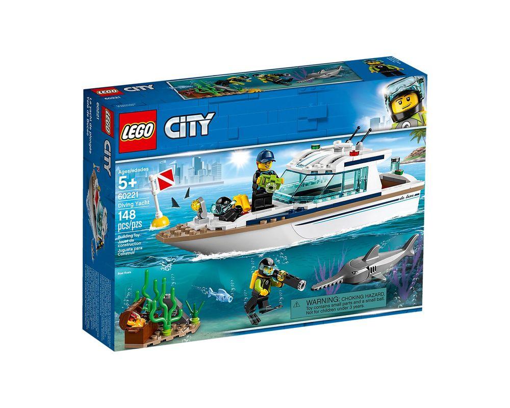 LEGO Set 60221-1 Diving Yacht